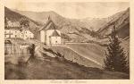 ...ganz links die alte Schule, Widum und Kirche!