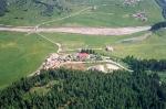 Ridnaun Dorf aus der Luft, aufgenommen am 23.Juni 1991